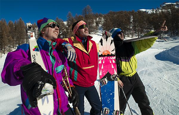 Costumes années 80 ski